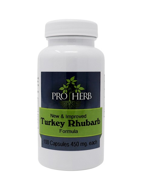 Turkey Rhubarb Formula